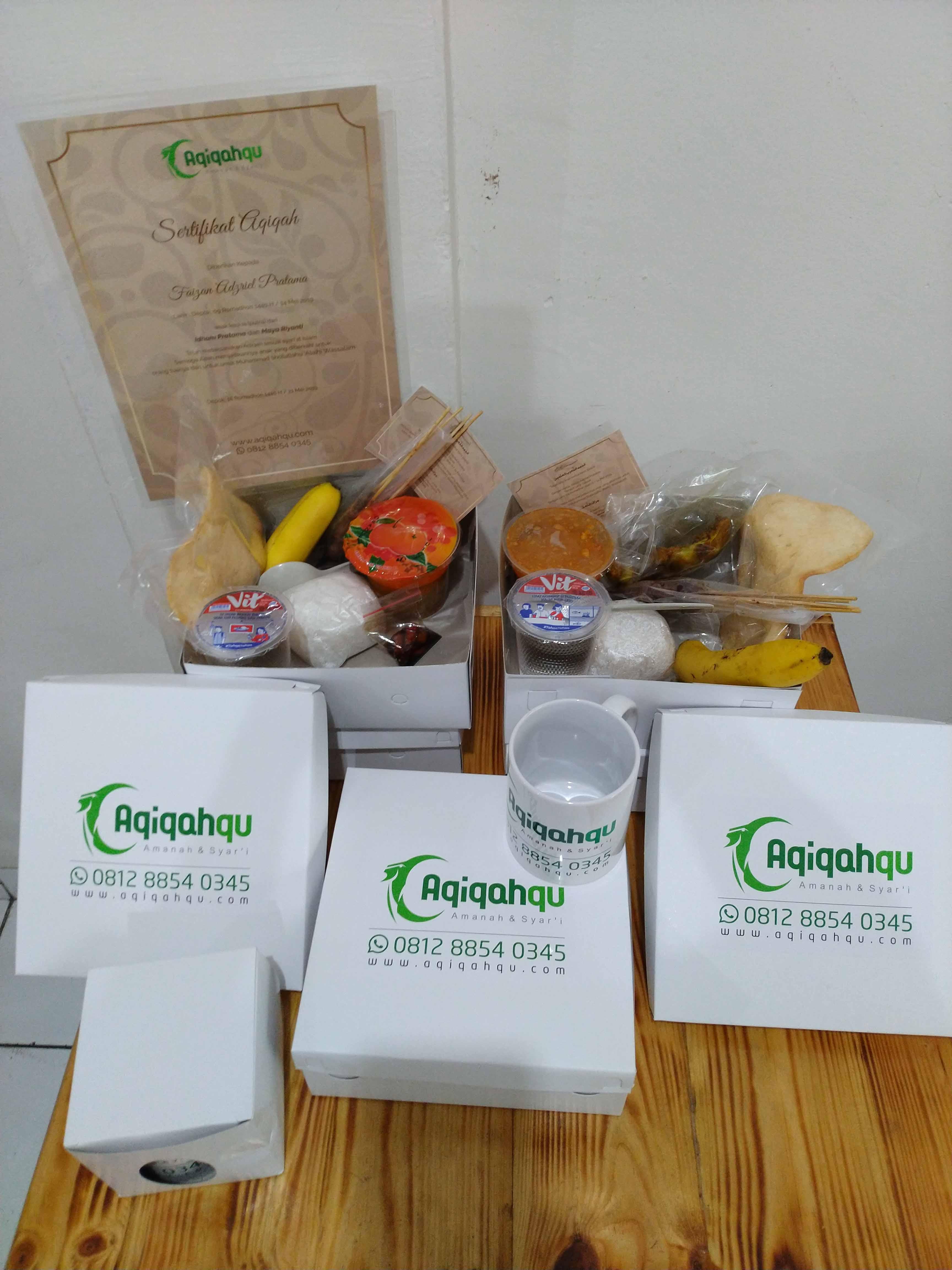 paket nasi box aqiqahqu