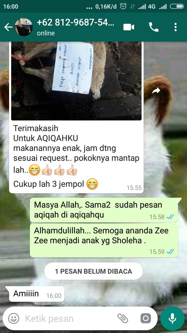 Testimoni Aqiqah yang Memuaskan di Tangerang