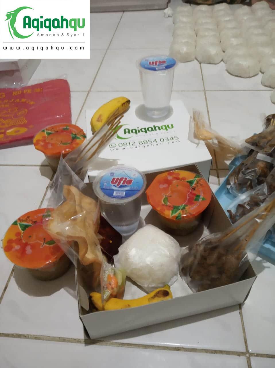 nasi box aqiqah lengkap